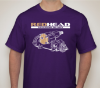 Picture of UW-T-Shirt: with RedHead Steering Gears Logo - University of Washington Purple and Gold